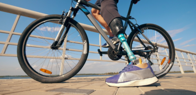 Getting to Ride Again: Getting back on a Bicycle as an Amputee